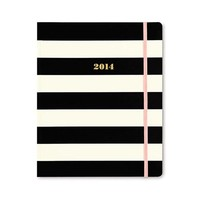Kate Spade Black Stripe Agenda - Dwellings