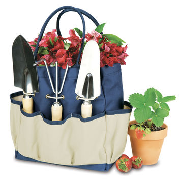 Garden Tote Large With 3 Pc Tools