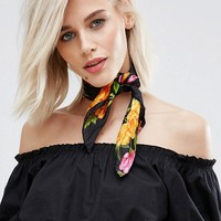 New Look Summer Floral Bandana at asos.com