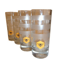 Jack Daniels Tennessee Honey Highball Glasses   S/4