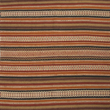 Jaipur Rugs FlatWeave Stripe Pattern Red/Blue Jute and Chinille Area Rug JAV04 (Rectangle)