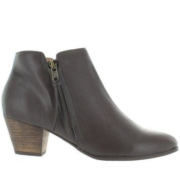 Chelsea Crew Laffy   Grey Side Zip Bootie