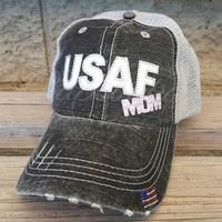 USAF Mom Hat, United States Air Force Hat