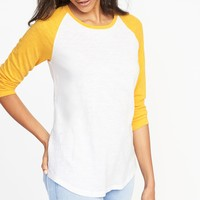 Relaxed Raglan-Sleeve Tee for Women | Old Navy