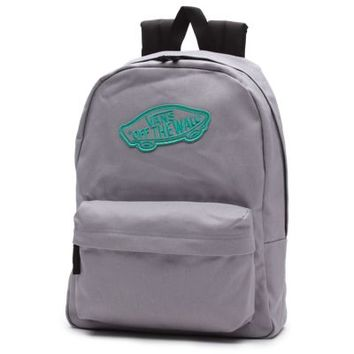 Vans Realm Backpack (Sleet/Mint Leaf)