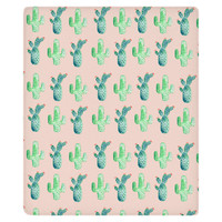 The Cactus Fleece Throw
