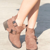 Made for Walking Booties in Taupe
