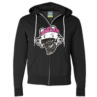 Hello Kitty Gangster Thug Zip-Up Hoodie