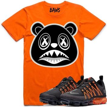OREO BAWS Sneaker Tees Shirt - Nike Air VaporMax Utility Orange