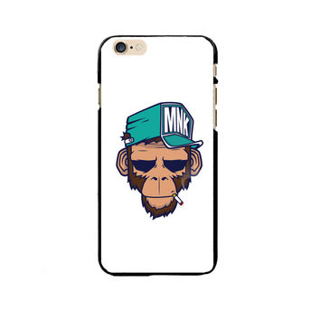 MNK Monkey Painting Exquisite PC Phone Case Cover Shell For Apple iPhone 5/5S/SE