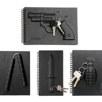 Set of Armed Notebooks