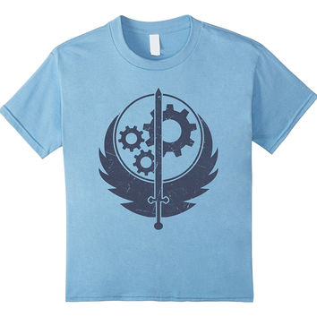 Brotherhood of Steel T-Shirt - Cool Fall Shirt