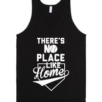 There's No Place Like Home-Unisex Black Tank