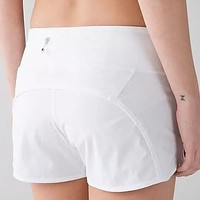 Lululemon Women Fashion Casual Sport Running Shorts