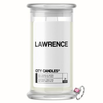Lawrence   City Jewelry Candle®