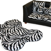 Dog Bed Set Pet Couch Furniture Deluxe Orthopedic Memory Foam Machine Washable