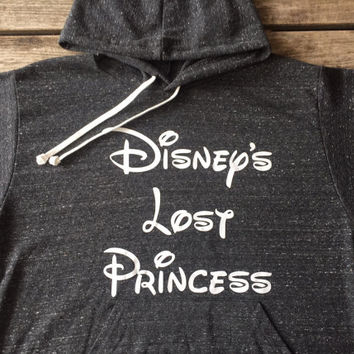 Disney's lost Princess hoodie, Disney's lost Princes sweatshirt,  Made by ThinkElite1.