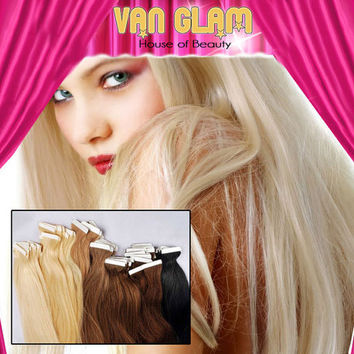 "Bring On The Blonde Tape In, 22"", 100% Remy Human Hair Extensions"