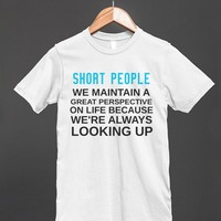 SHORT PEOPLE PERSPECTIVE