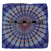Indian handmade  Mandala Bohemian Square Floor Decoration Pouf Cushion Cover