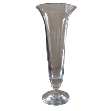 Pre-owned Vera Wang for Wedgwood Crystal Vase