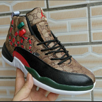 Gucci x Air Jordan 12 Retro Sneakers - Best Deal Online