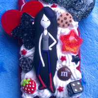 READY TO SHIP, Inspired by Adventure TIme, Marceline Snap On Case for the iPhone 4 :3