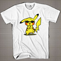 PIKACHU Gangnam Style  Mens and Women T-Shirt Available Color Black And White