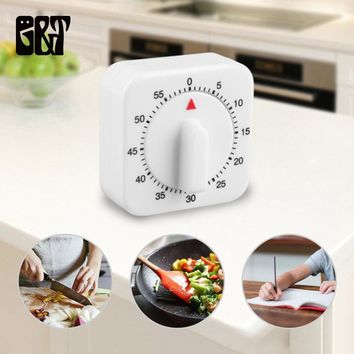 Portable 60 Minutes Kitchen Timer Manual Count Down Alarm Reminder Clock  Kitchen Mechanical Cooking Timer Home Baking Tools