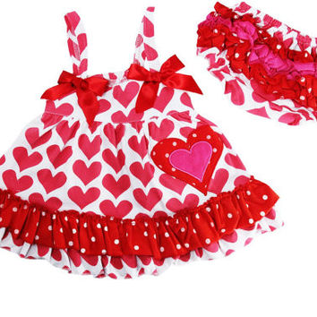 Vintage Heart Swing Top Set