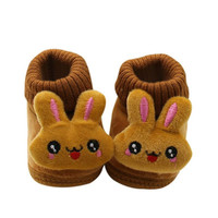 Baby Boy Girl Boots Soft Bottom Anti-slip Warm Shoes Bootie Infant Toddler Prewalker S1 SM6