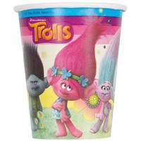Trolls 9oz Party Cups [8 per Pack]