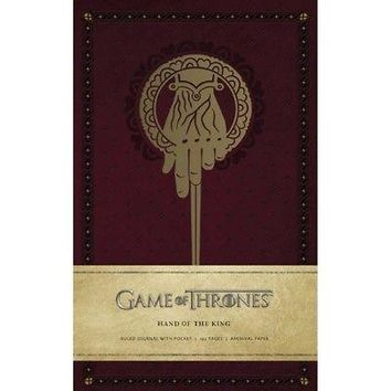 Game of Thrones: Hand of the King Hardcover Ruled Jour, Drama TV by Simon &