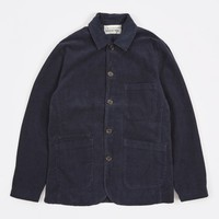 Universal Works Cord Bakers Jacket - Navy