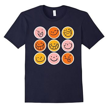 Smiley Emoticons Emoji T-Shirt for Men Women & Kids