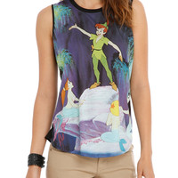 Disney Peter Pan Mermaids Girls Muscle Top