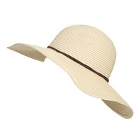 Suede Tie Floppy Hat | Shop Just Arrived at Wet Seal