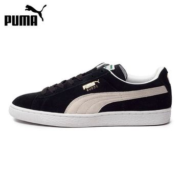 Original New Arrival 2017 PUMA Suede Classic+ Unisex's Skateboarding Shoes Sneakers