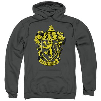 Harry Potter - Gryffindor Crest Adult Pull Over Hoodie Officially Licensed Apparel