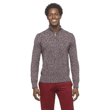 Merona Men's Quarter Zip Sweater