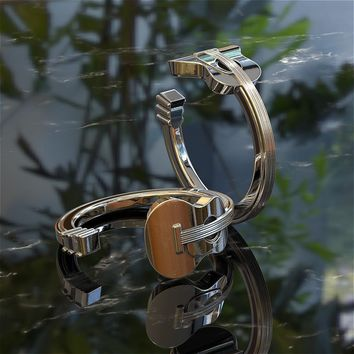 Acoustic Guitar Stainless Steel Ring