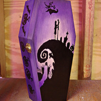 Nightmare Before Christmas Coffin Jewelry Box