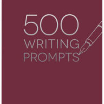 500 Writing Prompts|Paperback