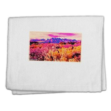 "Colorful Colorado Mountains 11""x18"" Dish Fingertip Towel by TooLoud"