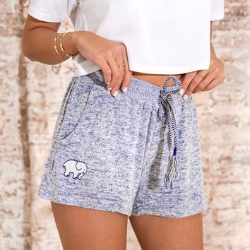Navy Heather Dorm Short
