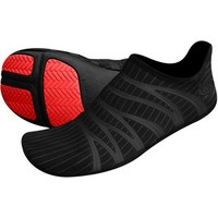 ZemGear 360 Round Runners Series Shoes w/ Free B&F Heart Sticker Bundle - Black/Black Reflective