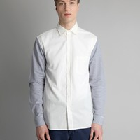 OTHER Charles Seersucker Sleeve Shirt