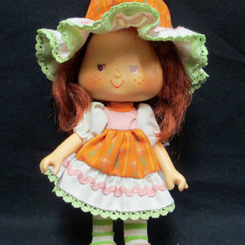 Café Ole Strawberry Shortcake Doll Party Pleaser Vintage 1979 Hong Kong Needs TLC