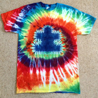 Autism Awareness Tie-dye Puzzle Piece T-shirt