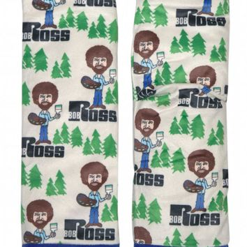 Bob Ross Women's Slipper Socks